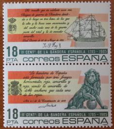 2017-09-30 Origen bandera española