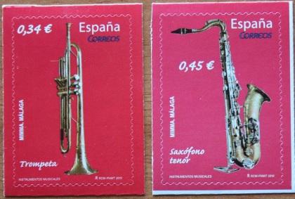 2018-08-13 Trompeta y saxofón